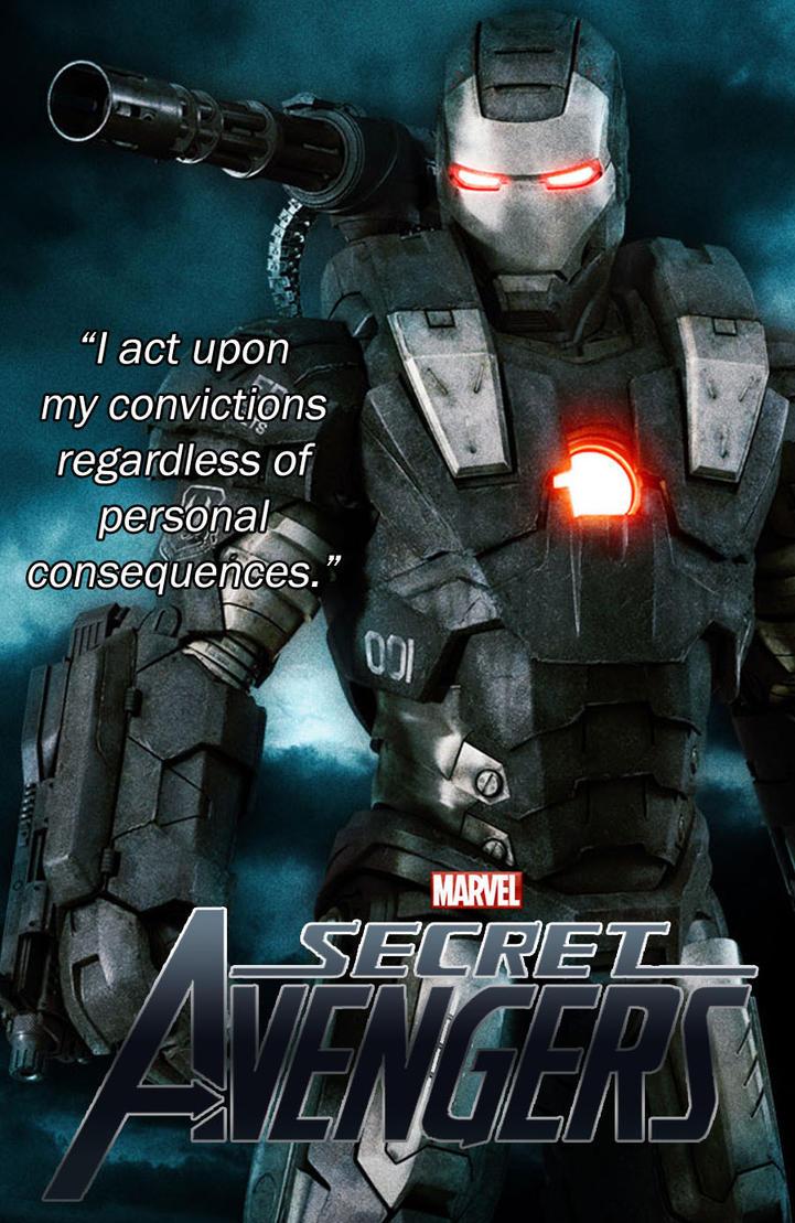 Secret Avengers film mock poster - War Machine by OrionSTARB0Y on ...
