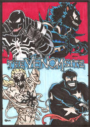 The Venom Site - Big 4 sketch cards