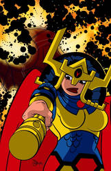 Big Barda (Justice League Action)