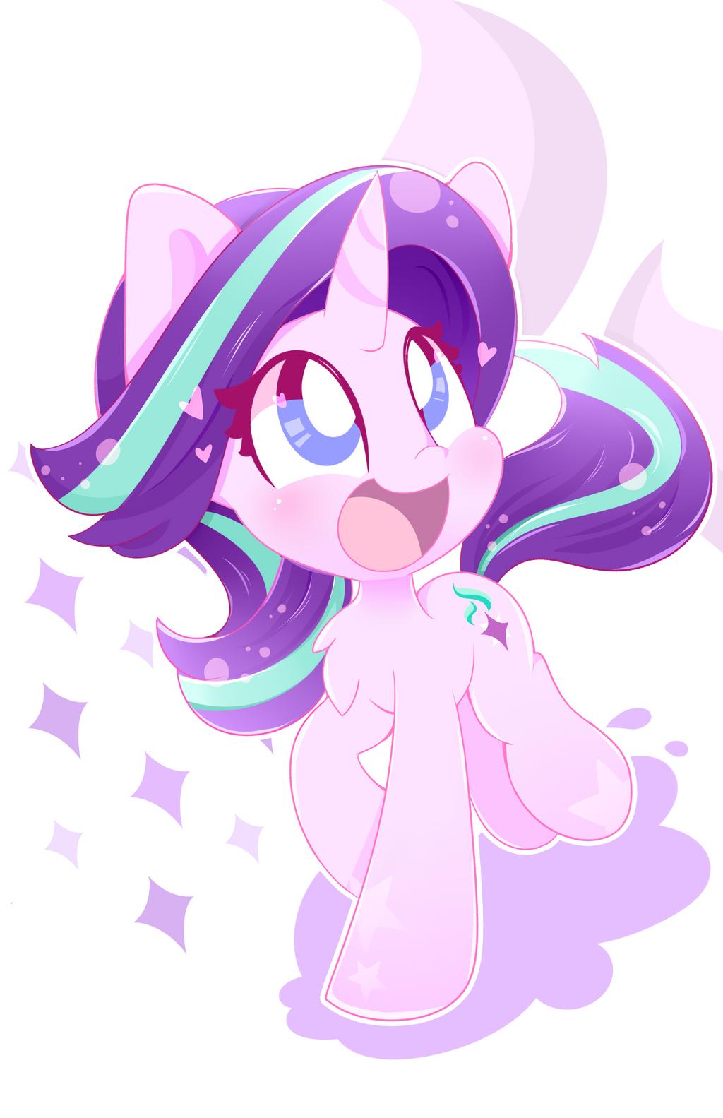 Starlight Glimmer Cutie by HungrySohma16