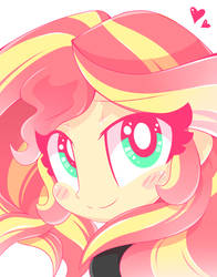 Sunset Shimmer Sees You!