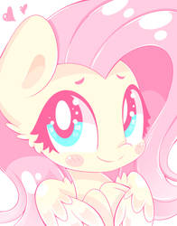 Fluttershy Sees You! by HungrySohma16