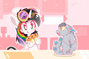 A lil Kitchen Helper - Happy Birthday Bliss! OwO by HungrySohma16