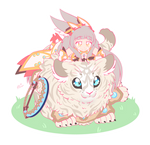 A Fluffy Duo - Nia and Dromarch