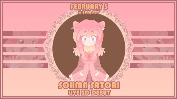 Sohma Live2d Debut