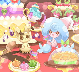 Mimikyu's Tea Time Party