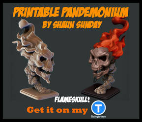 Flameskull Preview by ShaunSunday