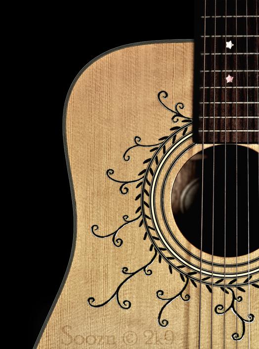 my guitar luv by soozn