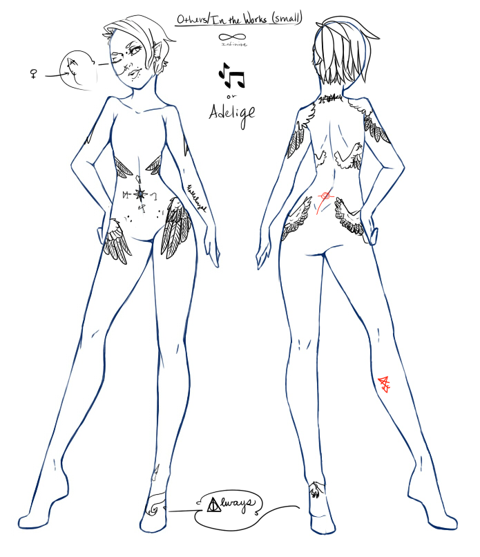 Personal Tattoo Ref by Helliotose