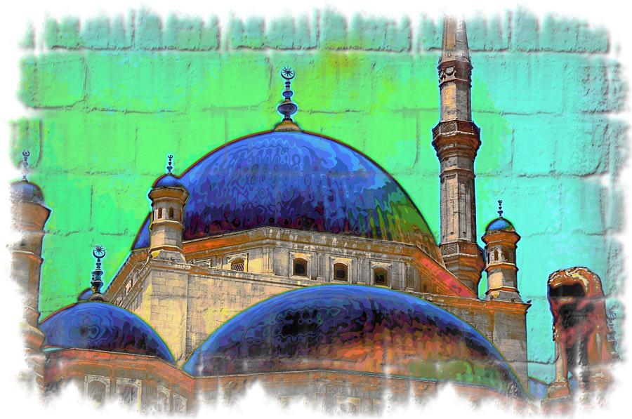 Pintada en Mezquita de Alabastro by GabrielPhotoArt