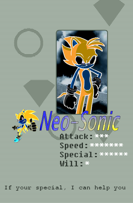 Neo-sonic's Profile Picture