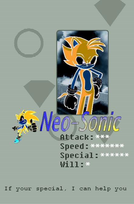 Neo-sonic's Profile Picture