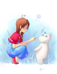 Moomin? by deerfox-art