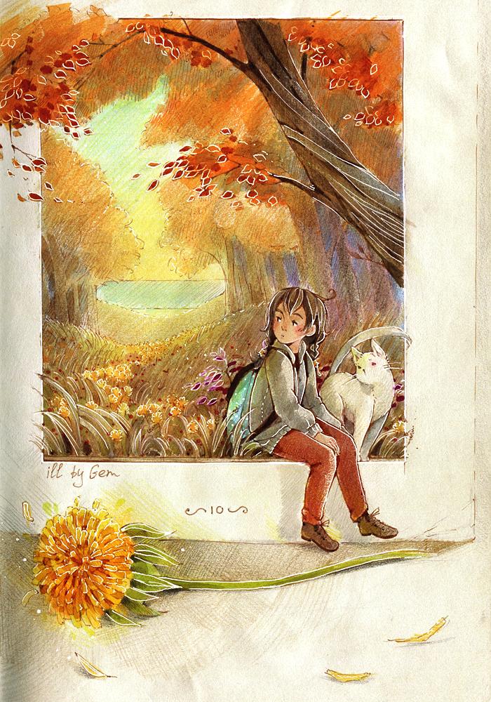 Some page in my sketchbook by deerfox-art