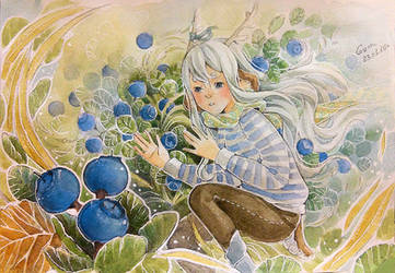 Blueberry by deerfox-art