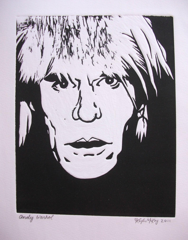 Andy Warhol Print by kaylamckay