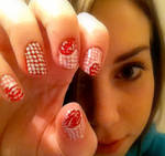 Roses on Dots