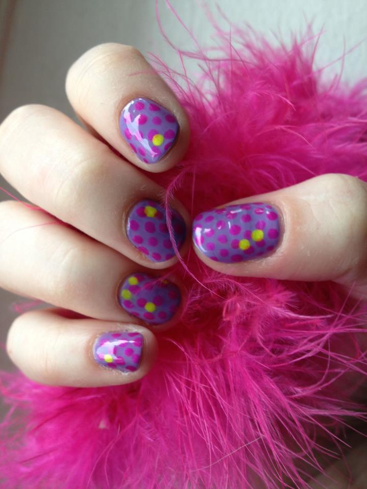Spot Nails by kaylamckay