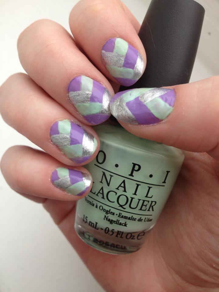 Braided Nails by kaylamckay