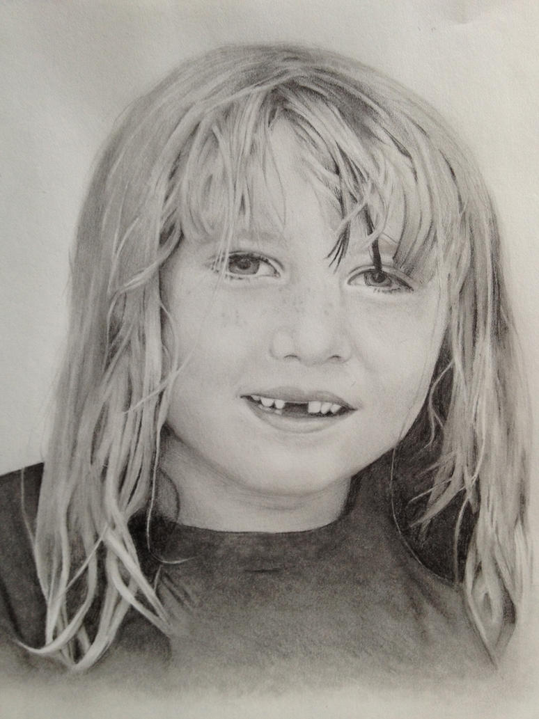 Drawing of Co-workers Daughter by kaylamckay