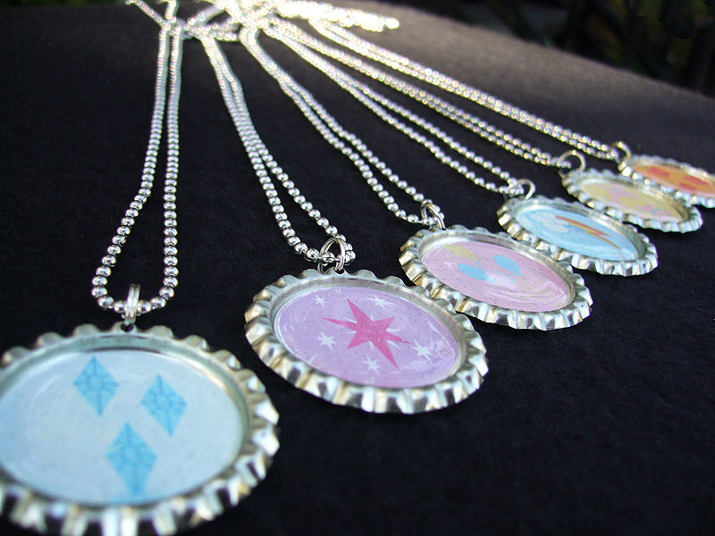 My little pony friendship is magic basic necklaces by monostache on my little pony friendship is magic basic necklaces by monostache aloadofball Gallery