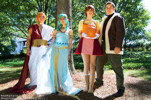 Harvest Moon: Animal Parade Cosplay Group