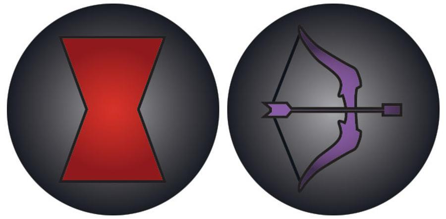 Black Widow Logo Avengers Digitalspacefo
