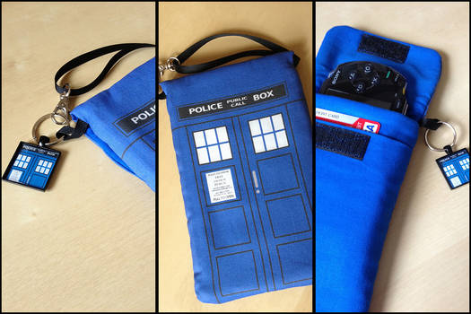 TARDIS Doctor Who Purselet for Phone/Nintendo DS