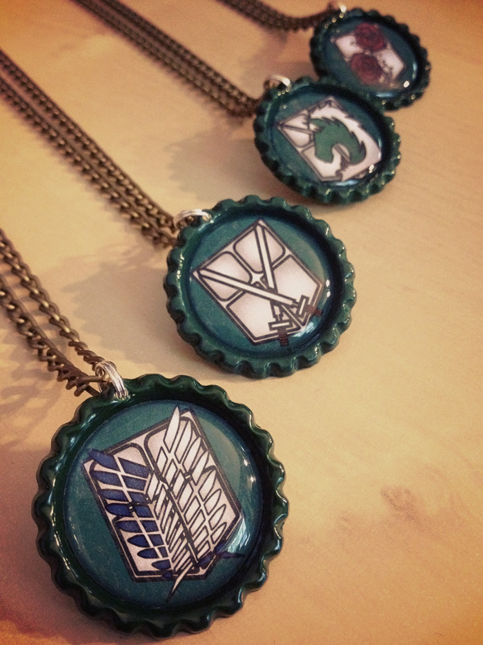 Attack on Fashion (Titan) Necklaces - Military by Monostache