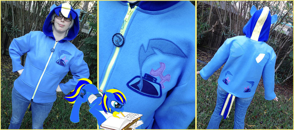 Skylar OC Pony Hoodie Commission by Monostache