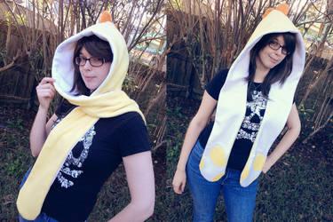 Yellow Yoshi Scoodie by Monostache