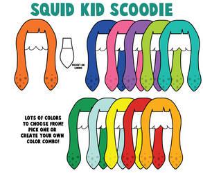 Splatoon Scoodies by Monostache