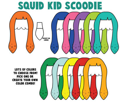 Splatoon Scoodies