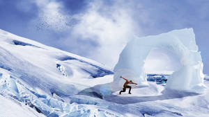Training in Ice Mountain by Soniop