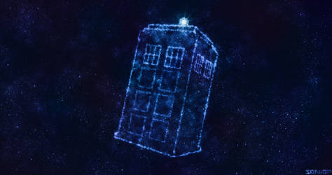 Commission - Tardis in... space by Soniop