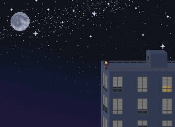 watching the moon