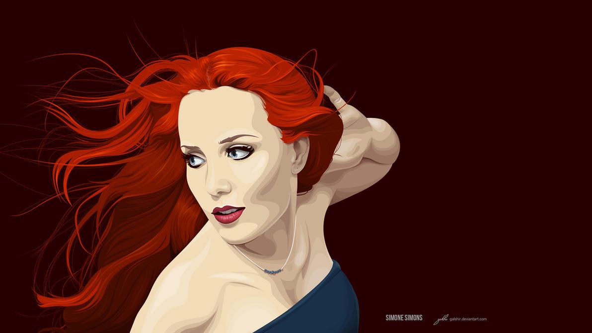 Simone Simons (Epica) by GalShir