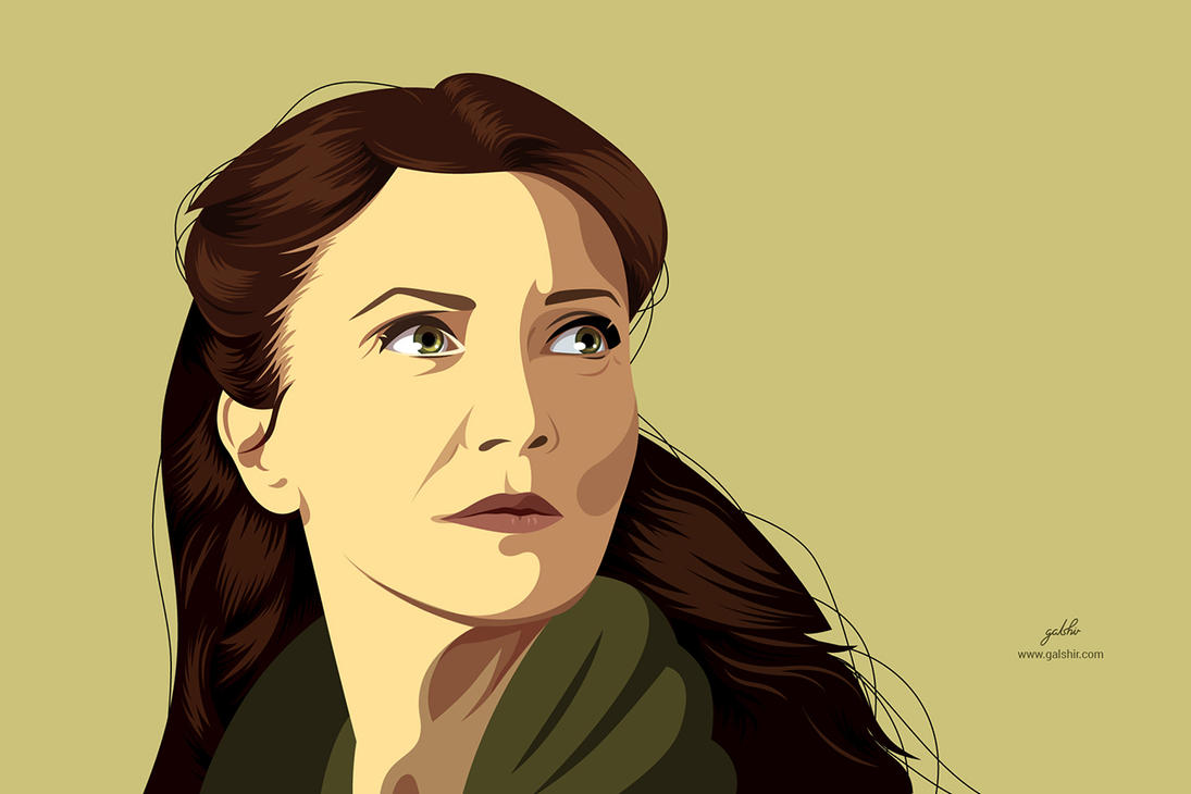 Catelyn Stark (Game Of Thrones) by GalShir