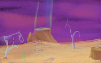 Land Of Stumps And Glass by aquapunkchick