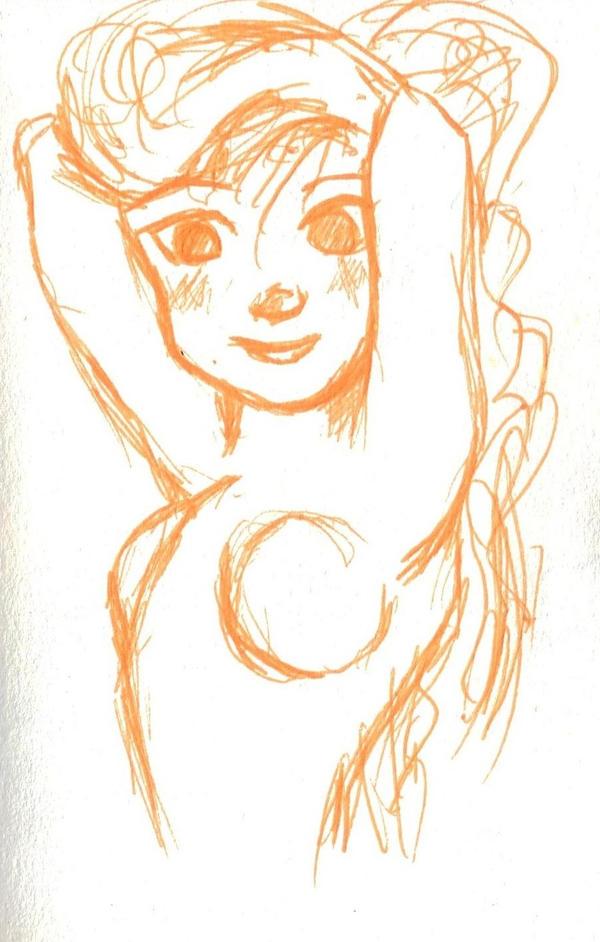 Girl posing by ShinnyShy