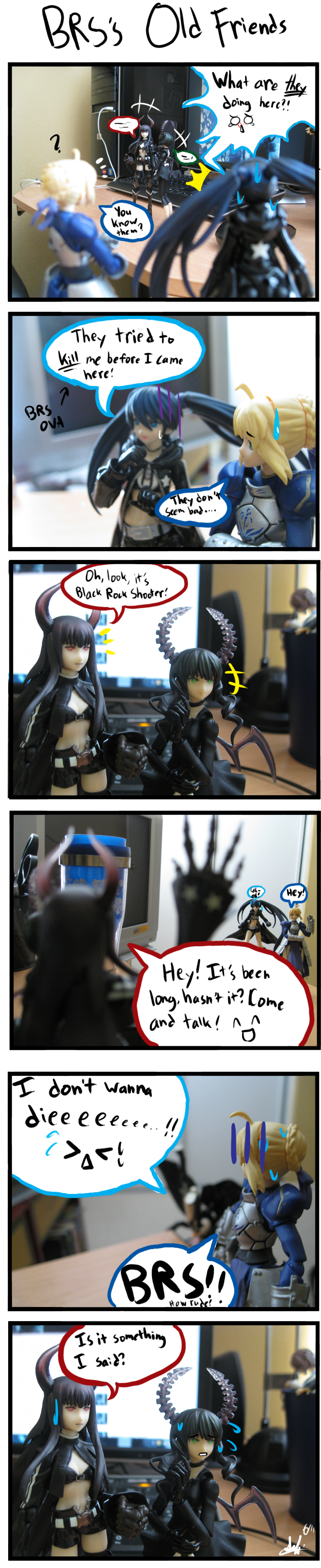 Figma-BRS's Old Friends by sabi-cookie-lover