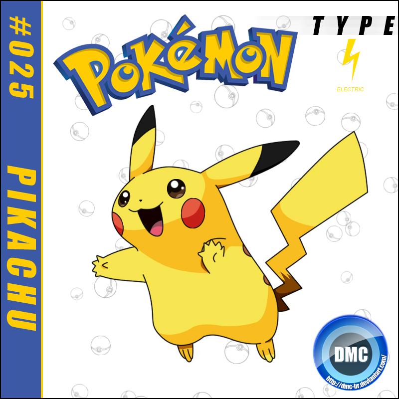 025 - Pikachu by dmc-br