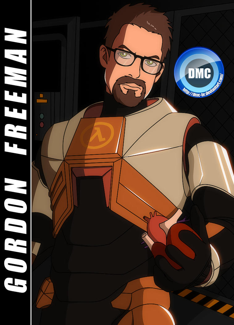 A to Z (Games) - G - Gordon Freeman by dmc-br