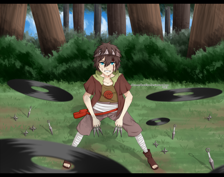 Nin Online - Kuro's struggle by AkumuAkatalina