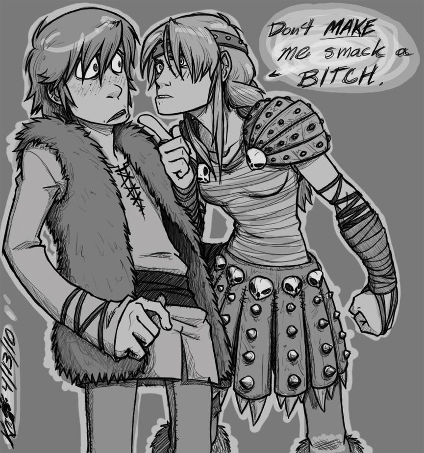 :HTTYD: Smack my bitch up... by RegentShaw