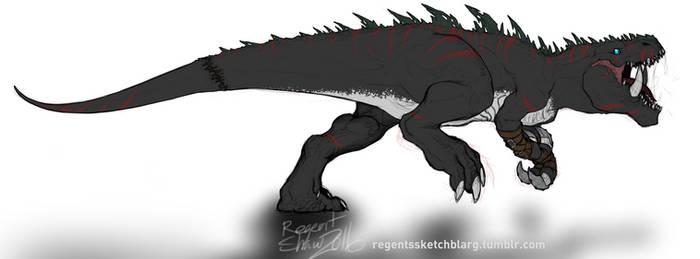 DarkTyrannomon by RegentShaw
