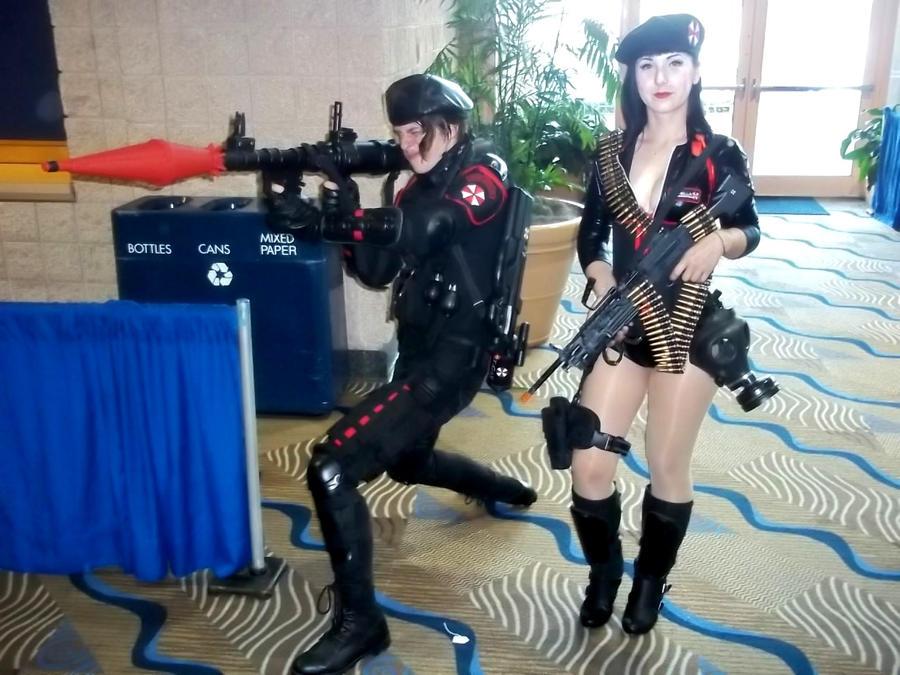 Populares Umbrella Corp. Mercenaries by RavenStar88 on DeviantArt HN64