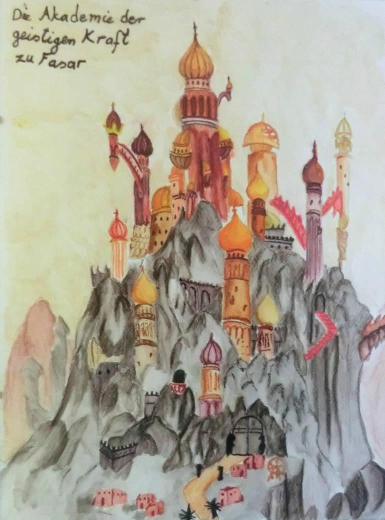 Halle der Geistigen Kraft zu Fasar by tak-lung