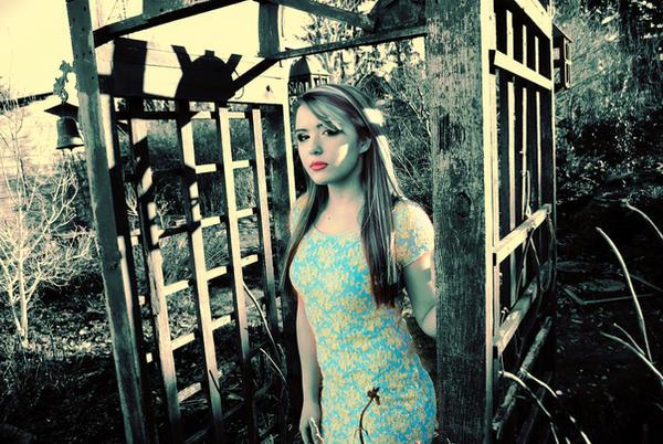 blue garden by chrisfkn
