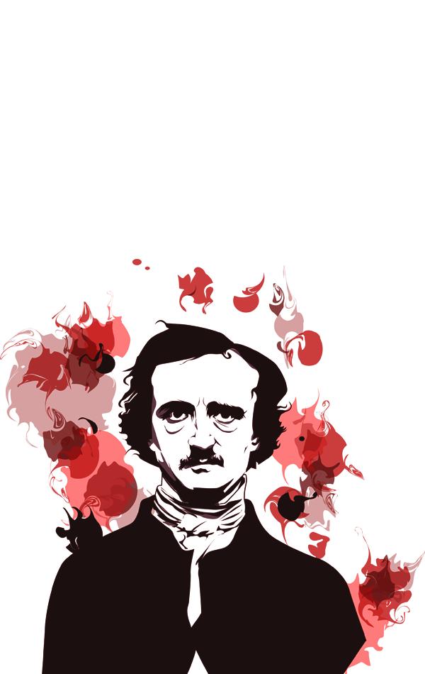 Edgar Allan Poe. by ohparapraxia